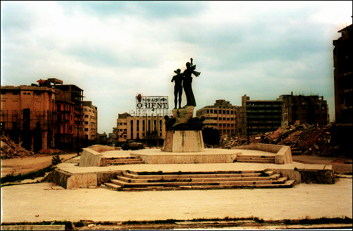 Martyr's Square, Beirut 1981 : Lebanon 1981-2008 : BILL FOLEY