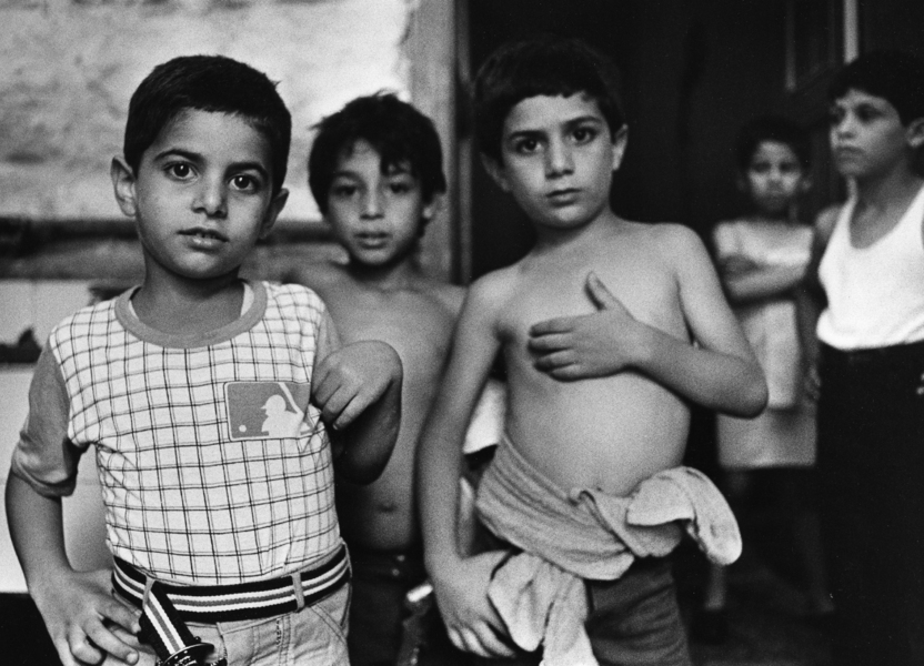 Orphans-Lebanese orphanage, East Beirut July 1982