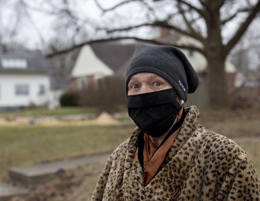On a walk : Portraits in a Pandemic-Masks on! : BILL FOLEY